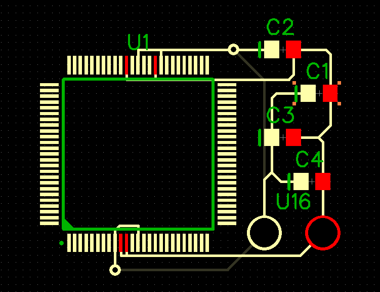 Component Placement on PCB