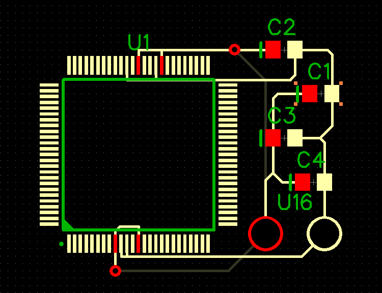 Component Placement on PCB 2
